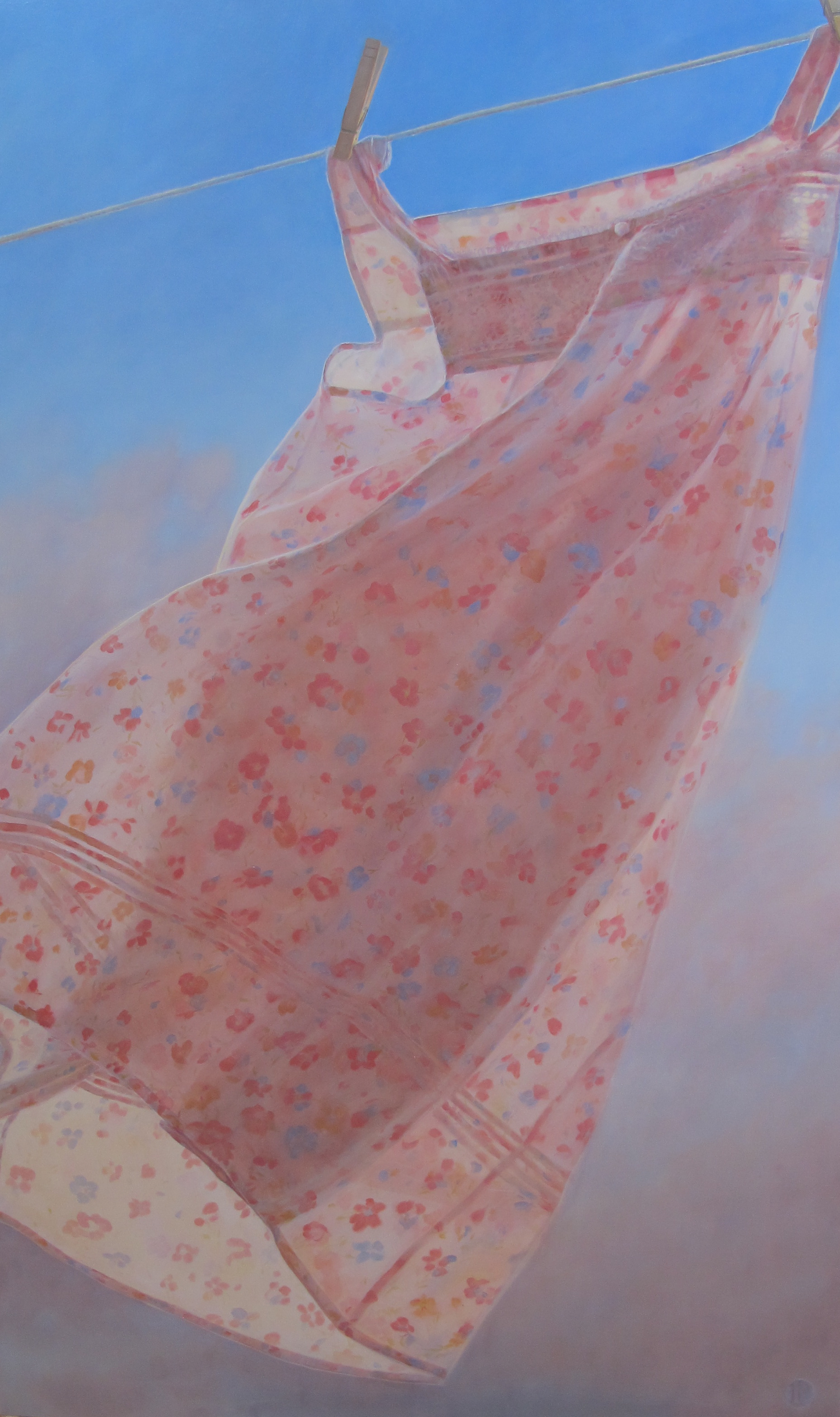"36"" x 60"" Oil on Linen, Available from Renjeau Galleries"